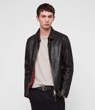 AllSaints Caleb Leather Jacket