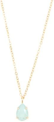 Rosaspina Firenze Mint Green Drop Necklace