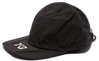 2e4da98bb Y-3 Y 3 Signature Foldable Nylon Cap - Mens - Black