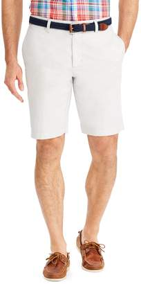 Chaps Big & Tall Classic-Fit Oxford Stretch Flat-Front Shorts