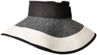 San Diego Hat Company UBV038 Roll Up Visor with Bow Closure Casual Visor