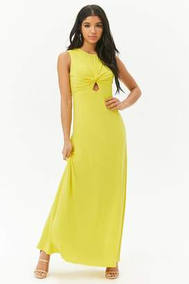 Forever 21 Twist-Front Maxi Dress