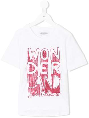 John Galliano wonder print T-shirt