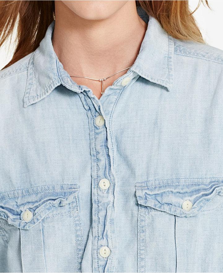 Denim & Supply Ralph Lauren Surplus Shirtdress 3