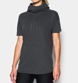 Under Armour Women's UA Championship Short Sleeve Hoodie