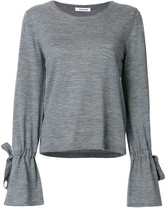 P.A.R.O.S.H. drawstring cuff sweater