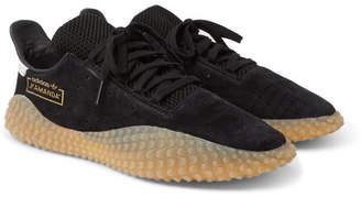 adidas Consortium Consortium - Kamanda Suede Sneakers - Black