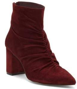 1 STATE 1.STATE Saydie Ruched Suede Booties