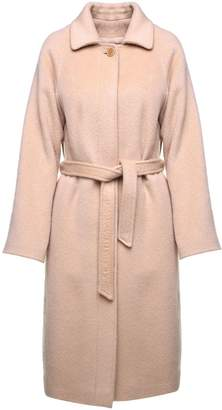RED Valentino Belted Mohair And Wool-blend Coat