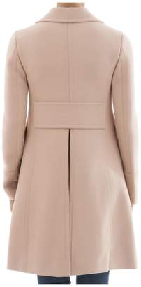 Christian Dior Pink Wool Coat