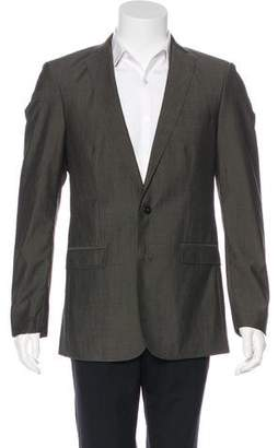 J. Lindeberg Wool Two-Button Blazer