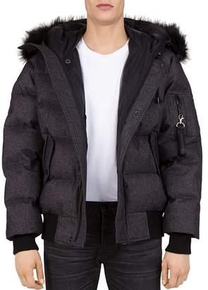 The Kooples Puffa Hooded Down Jacket
