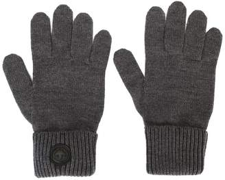 DSQUARED2 classic ribbed gloves