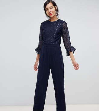 Y.A.S Tall sheer dot jumpsuit