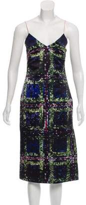 Cédric Charlier Printed Sleeveless Dress w/ Tags