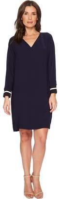Lauren Ralph Lauren Crepe Shift Dress Women's Dress
