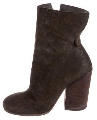 Marsèll Suede Mid-Calf Boots