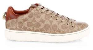 Coach Canvas Monogram Sneakers