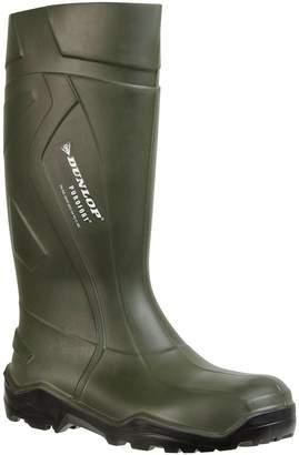 Dunlop Purofort+ Dark /Black, Without Steel Toe D760933 Size - 6