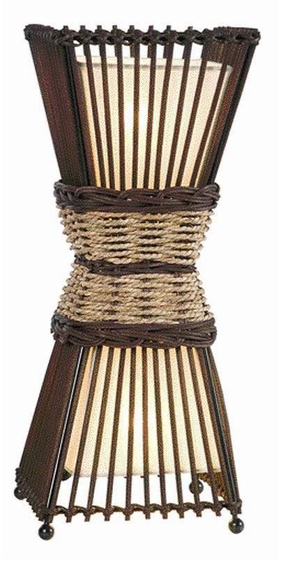 Nino Leuchten EEK A++, Tischleuchte Bamboo