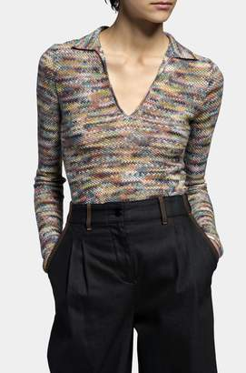 Missoni Long-Sleeved Polo Shirt