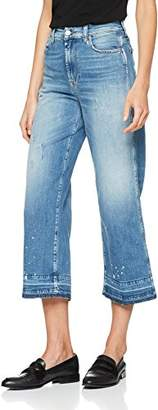7 For All Mankind Seven International SAGL Women's Marnie Unrolled Flared Jeans,W28/L26 (Manufacturer Size: 28)