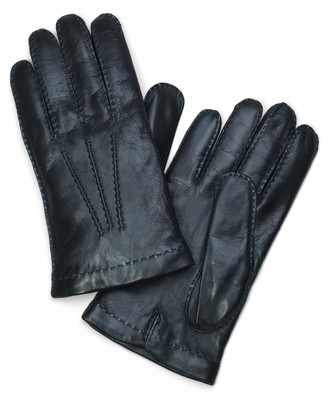 Brooks Brothers Lambskin Cashmere Lined Gloves