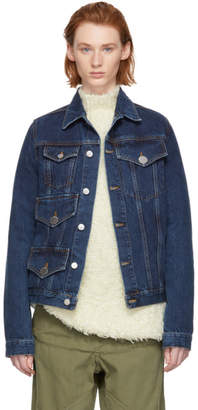 J.W.Anderson Indigo Multi Pocket Denim Jacket
