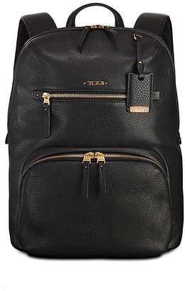 Tumi Voyageur Leather Halle Backpack