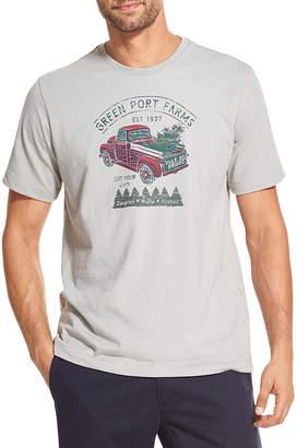 Izod Screen Tees Short Sleeve Graphic T-Shirt-Big and Tall
