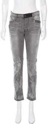 RtA Denim Mid-Rise Distressed Jeans w/ Tags