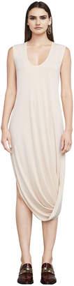 BCBGMAXAZRIA Bre Asymmetrical Knit Dress