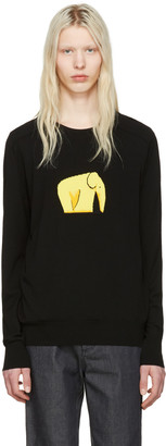 Loewe Black Elephant Sweater $750 thestylecure.com