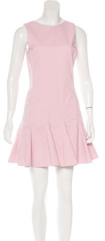 Christian Dior Pleated Mini Dress