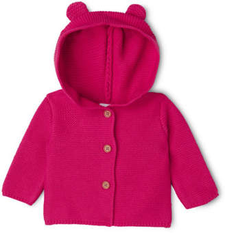 Sprout NEW Girls Caridgan with Hood Rose Red