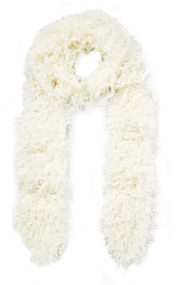 Missoni Faux Shearling Scarf - Ivory