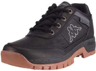 Kappa Unisex - Adult BRIGHT LOW Footwear unisex, Synthetic Lace-Ups Black Schwarz (1111 BLACK) Size: