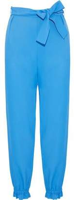MSGM Belted Twill Tapered Pants