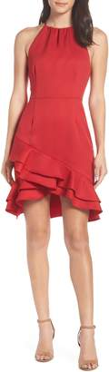 Cooper St Senorita High Neck Ruffle Dress