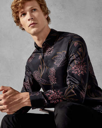 Ted Baker NOTTING Floral print cotton shirt