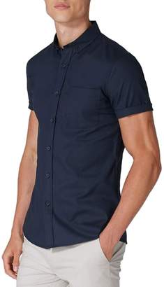 Topman Muscle Fit Woven Shirt