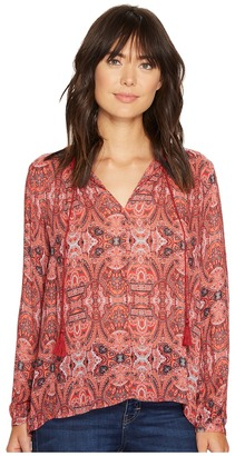 Lucky Brand - Printed Parachute Top Women's Clothing $89.50 thestylecure.com