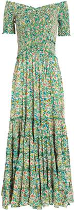 Poupette St Barth Soledad Off-The-Shoulder Dress
