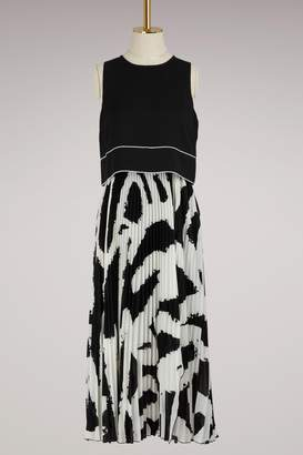 Proenza Schouler Crpe pleated dress