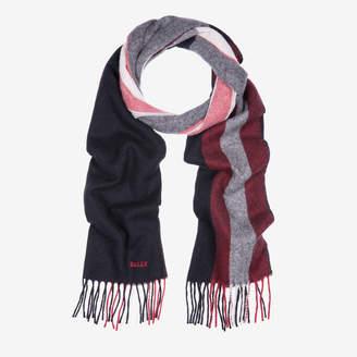 Bally Trainspotting Scarf Black, Men's wool scarf in Black