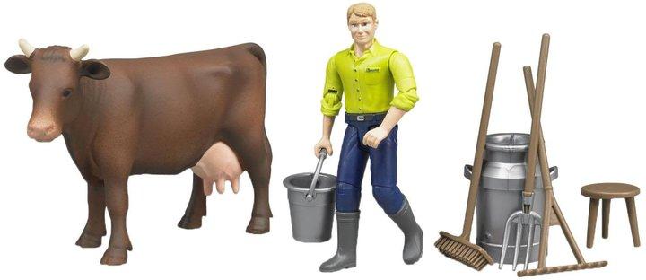 Bruder Figure Set Farming Toy Figure