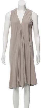 Rick Owens Flowy Midi Dress