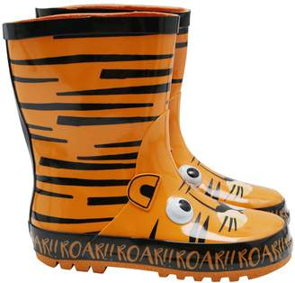 M&Co Tiger wellies