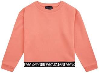 Emporio Armani Logo Hem Sweatshirt