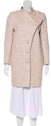 Bouchra Jarrar Metallic Tweed Coat